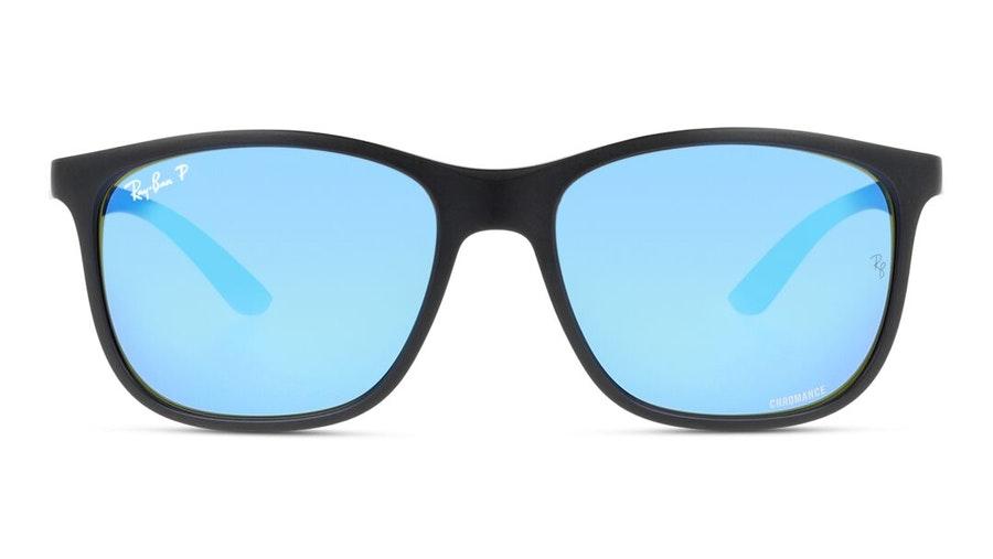 Ray-Ban Chromance RB 4330CH Men's Sunglasses Blue/Black