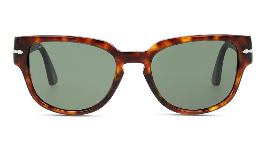 Persol PO 3231S Men's Sunglasses Green / Tortoise Shell