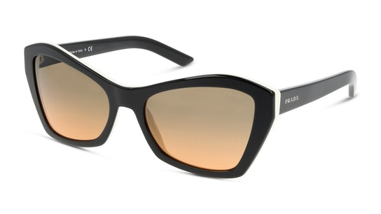 PR 07XS (5460AO) Sunglasses Grey / Black