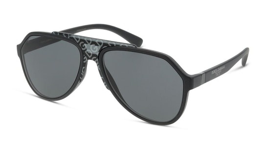 DG 6128 (252587) Sunglasses Grey / Black