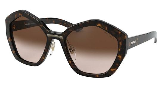 PR 08XS (2AU6S1) Sunglasses Brown / Brown