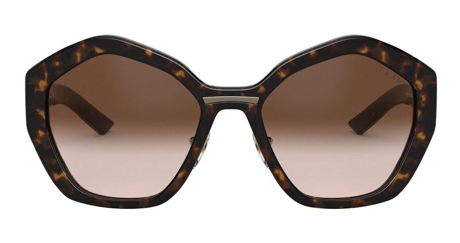 Prada PR 08XS (2AU6S1) Sunglasses Brown / Brown