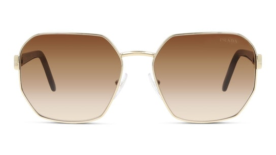 PR 54XS (ZVN6S1) Sunglasses Brown / Gold