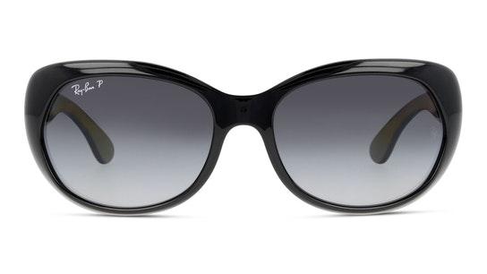 RB 4325 (601/T3) Sunglasses Grey / Black