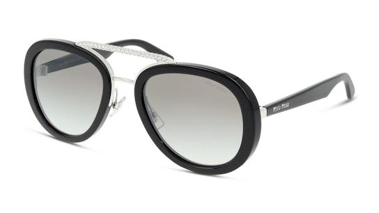 MU 05VS Women's Sunglasses Brown / Black