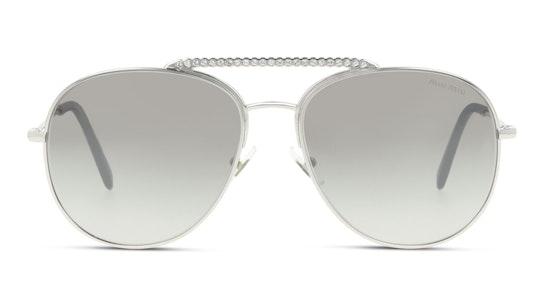 MU 53VS Women's Sunglasses Brown / Silver