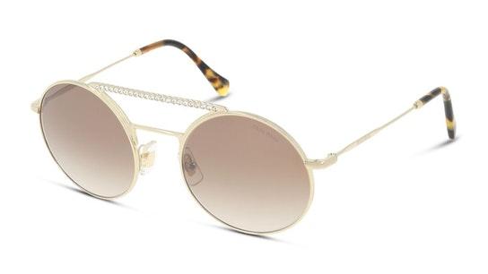 MU 52VS Women's Sunglasses Brown / Gold