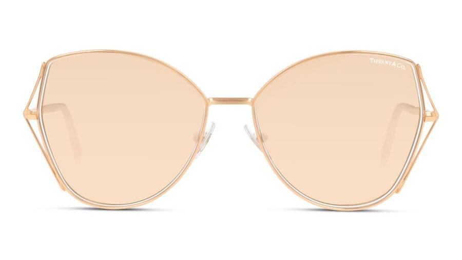 Tiffany & Co TF 3072 Women's Sunglasses Brown / Gold