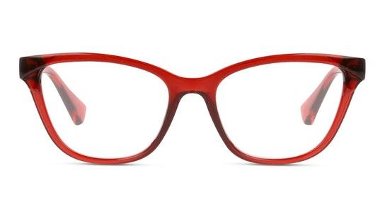 RA 7118 Women's Glasses Transparent / Red