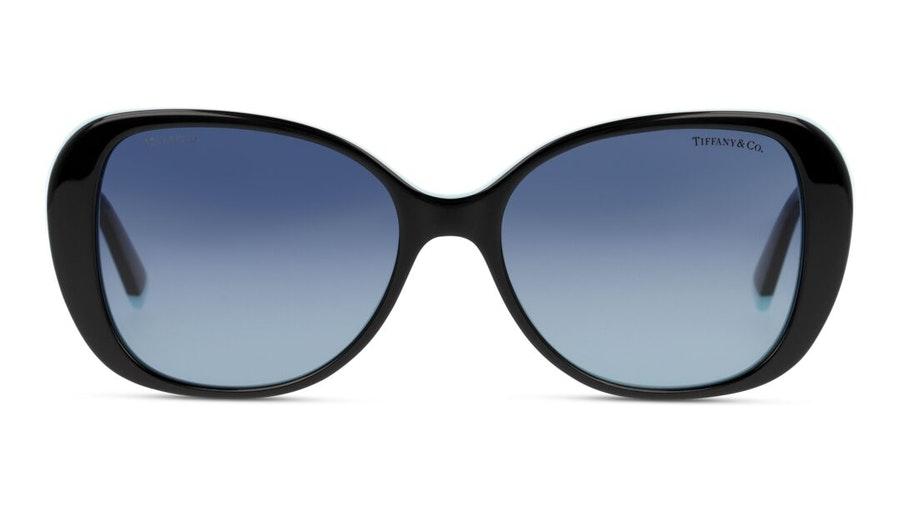 Tiffany & Co TF 4156 (80554U) Sunglasses Grey / Black