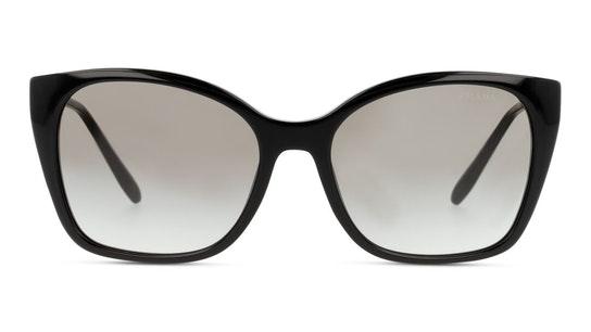 PR 12XS (1AB0A7) Sunglasses Grey / Black