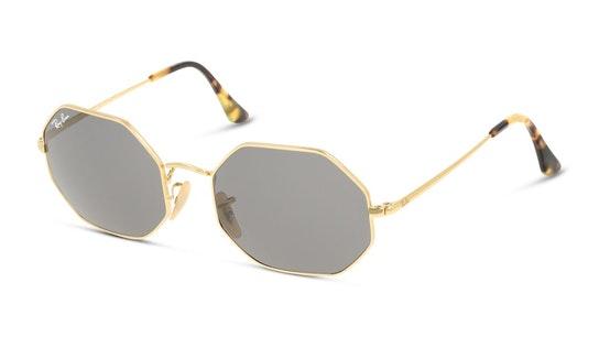 Octagon RB 1972 (9150B1) Sunglasses Grey / Gold