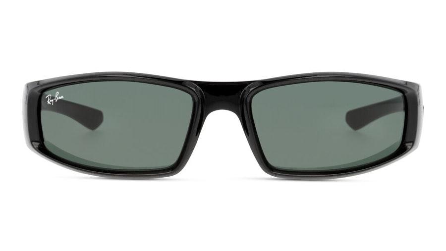 Ray-Ban RB 4335 Men's Sunglasses Green / Black