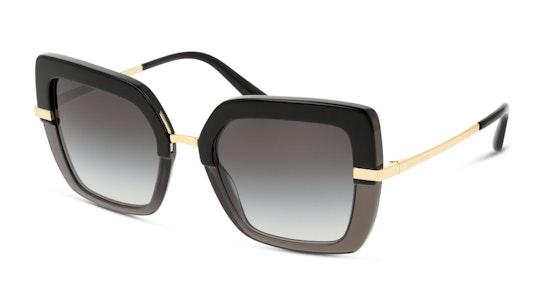 DG 4373 (32468G) Sunglasses Grey / Black