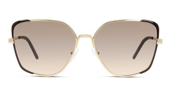 PR 6XS Women's Sunglasses Brown / Gold