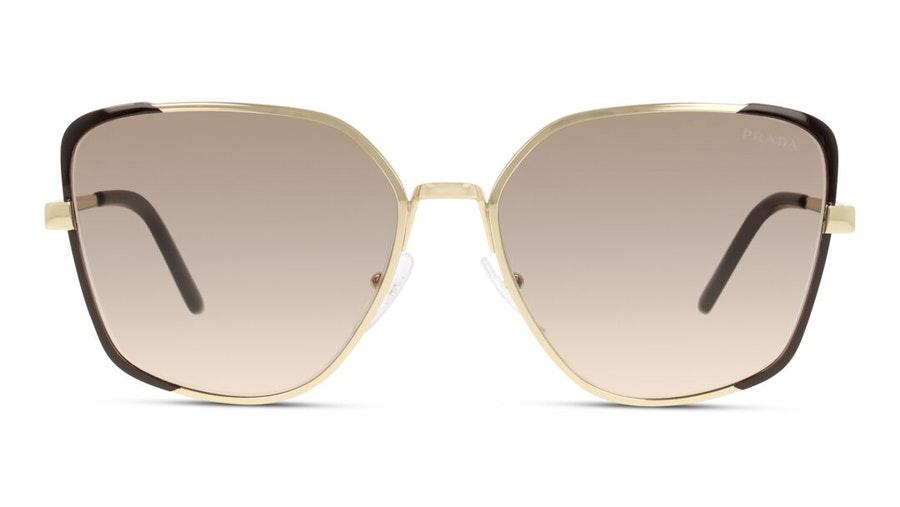 Prada PR 6XS (KOF3D0) Sunglasses Brown / Gold