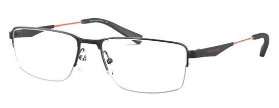 AX 1038 (Large) (Black) Glasses Transparent / Black