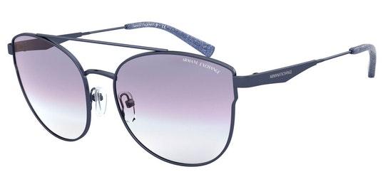 AX 2032S (611719) Sunglasses Blue / Blue