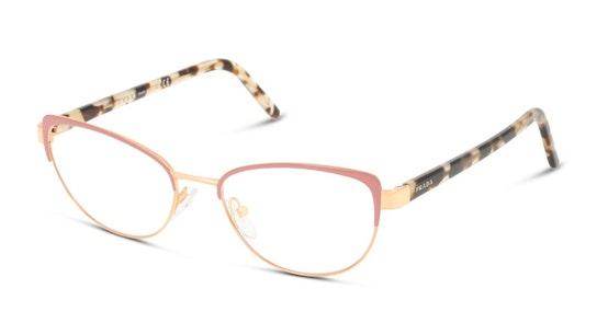PR 63XV (03B1O1) Glasses Transparent / Pink
