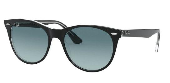 Wayfarer II RB 2185 (12943M) Sunglasses Grey / Black