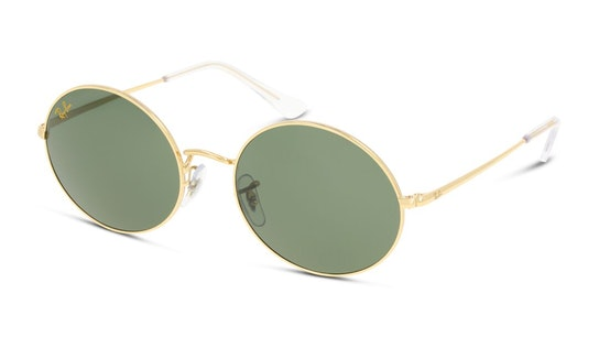 Oval RB 1970 (919631) Sunglasses Green / Gold
