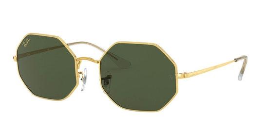 Octagon RB 1972 (919631) Sunglasses Green / Gold