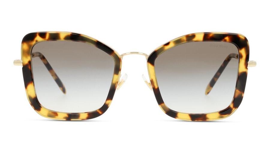 Miu Miu MU 55VS (7S00A7) Sunglasses Brown / Havana