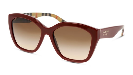 BE 4261 Women's Sunglasses Brown / Red