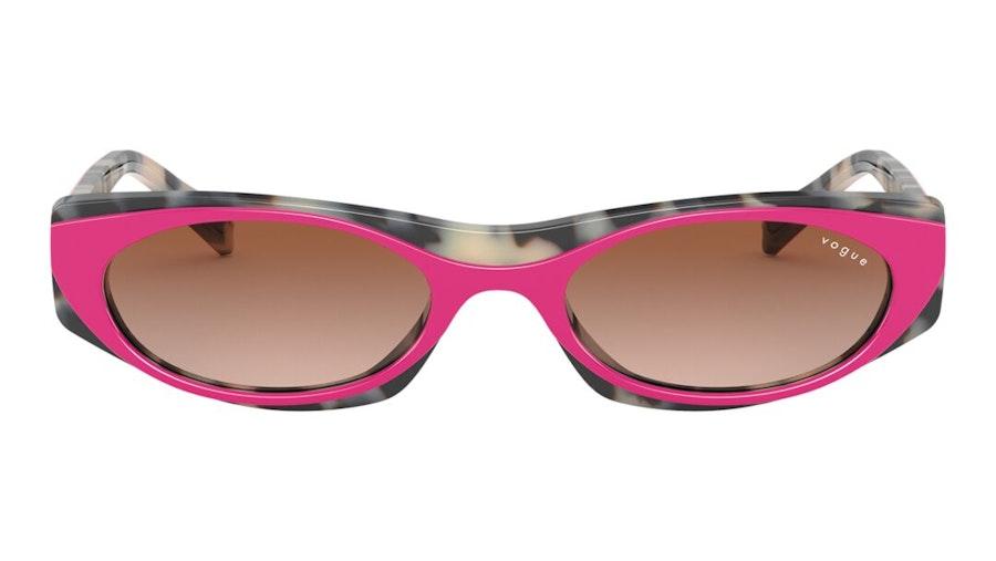 Vogue MBB x VO 5316S Women's Sunglasses Brown / Pink