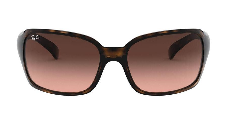 Ray-Ban RB 4068 Woman's Sunglasses Brown/Tortoise Shell