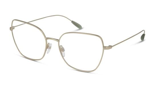 EA 1111 Women's Glasses Transparent / Gold