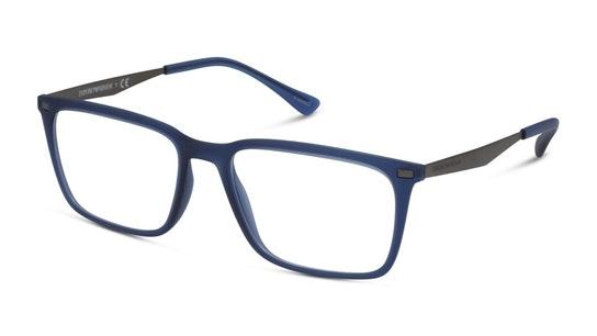 EA 3169 Men's Glasses Transparent / White
