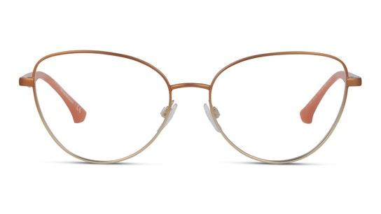 EA 1104 Women's Glasses Transparent / Bronze