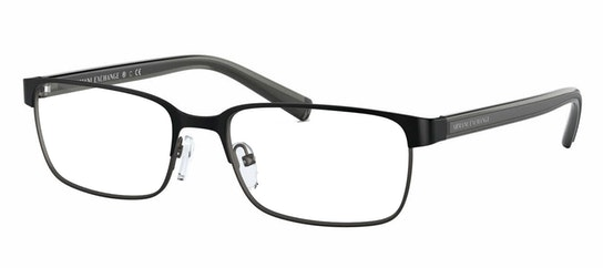 AX 1042 (Large) Men's Glasses Transparent / Black