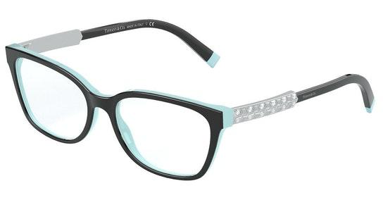 TF 2199B Women's Glasses Transparent / Black