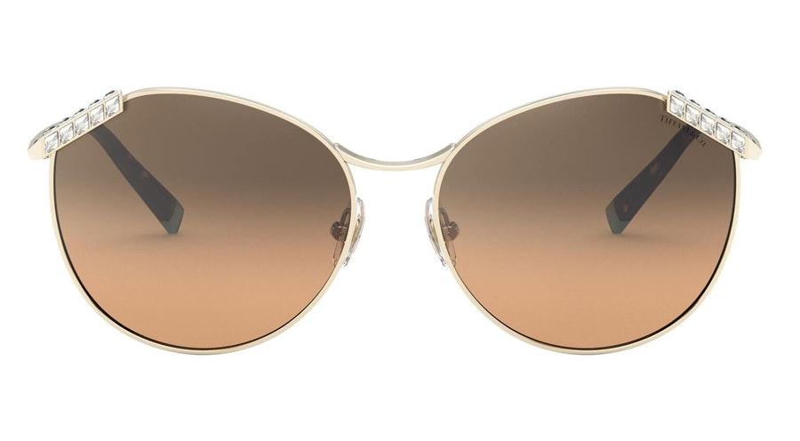 Tiffany & Co TF 3073B (60213B) Sunglasses Brown / Gold