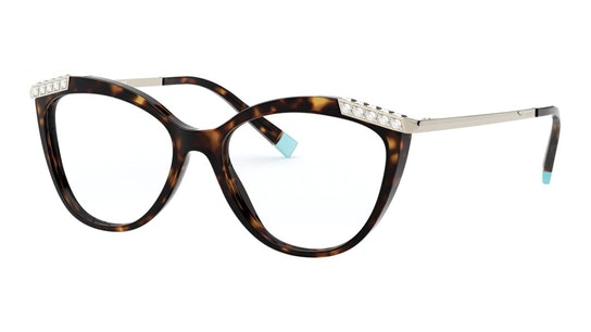 TF 2198B Women's Glasses Transparent / Tortoise Shell