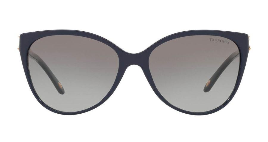Tiffany & Co TF 4089B Women's Sunglasses Grey / Blue