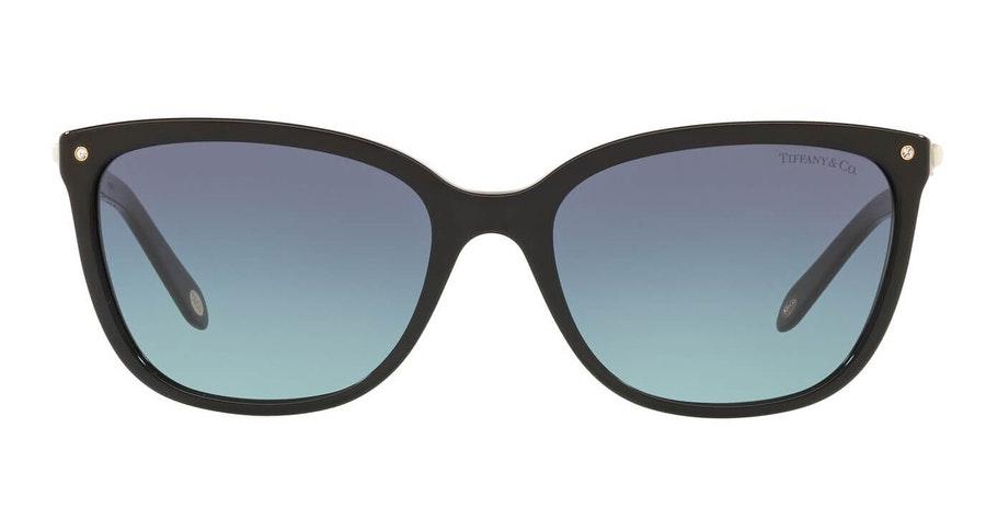 Tiffany & Co TF 4105HB Women's Sunglasses Blue / Black