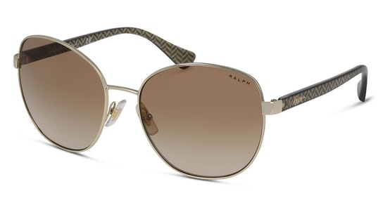 RA 4131 Women's Sunglasses Brown / Gold