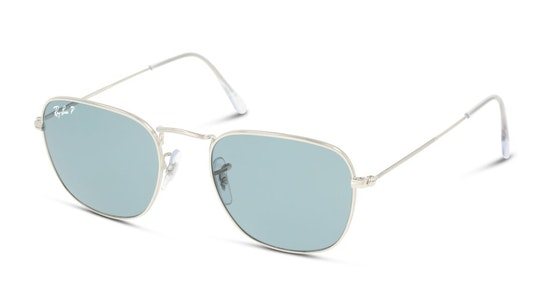 Frank Legend Gold RB 3857 (9198S2) Sunglasses Grey / Silver