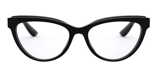 DG 3332 (501) Glasses Transparent / Black