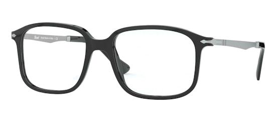 PO 3246V (Large) (95) Glasses Transparent / Black