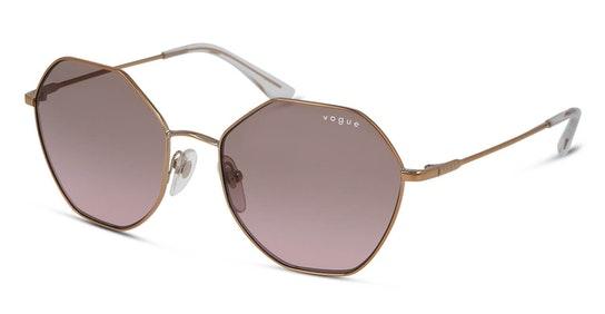 VO 4180S (507514) Sunglasses Violet / Gold