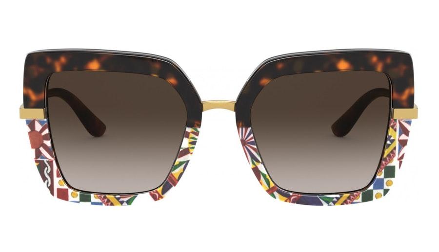 Dolce & Gabbana DG 4373 (327813) Sunglasses Brown / Tortoise Shell