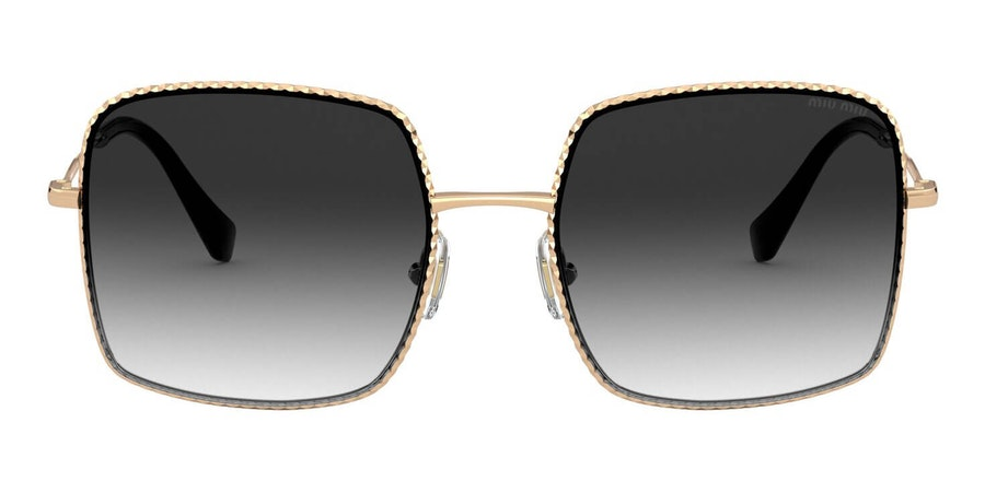 Miu Miu MU 61VS Women's Sunglasses Grey / Gold