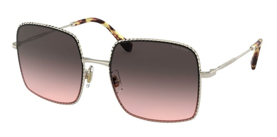 MU 61VS Women's Sunglasses Black / Gold