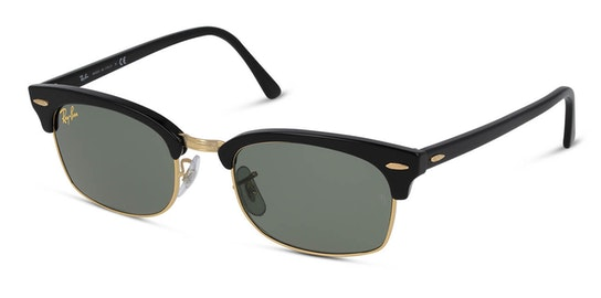 Clubmaster Square Legend RB 3916 (130331) Sunglasses Grey / Black