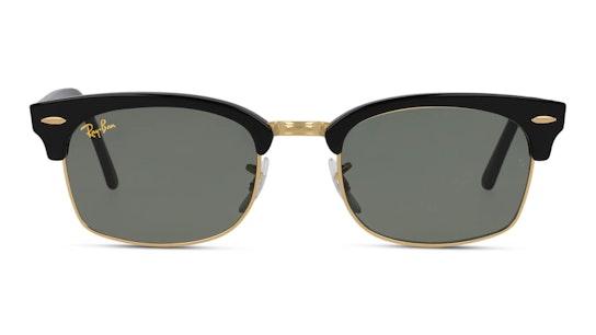 Clubmaster Square Legend RB 3916 Men's Sunglasses Grey / Black