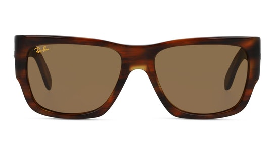 Wayfarer Nomad RB 2187 (954/33) Sunglasses Brown / Havana